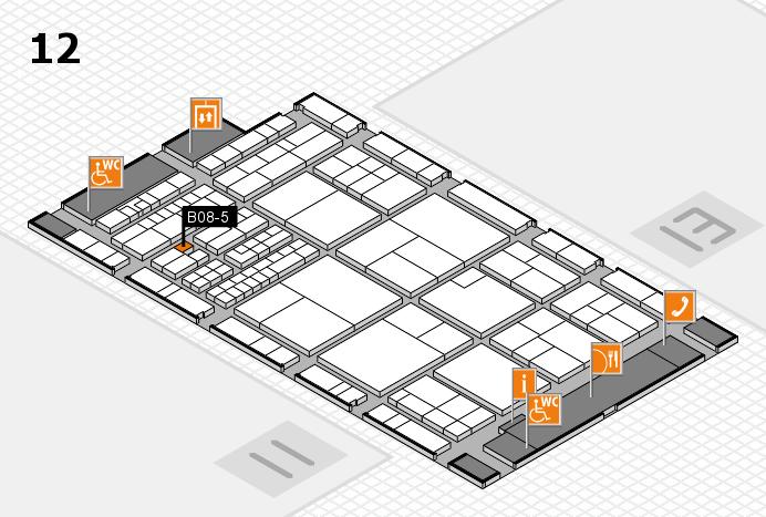 interpack 2017 Hallenplan (Halle 12): Stand C03-4