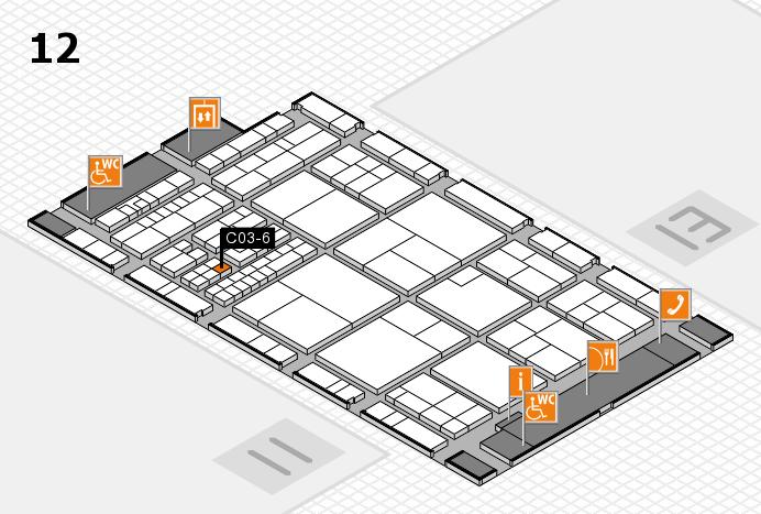 interpack 2017 Hallenplan (Halle 12): Stand C03-6