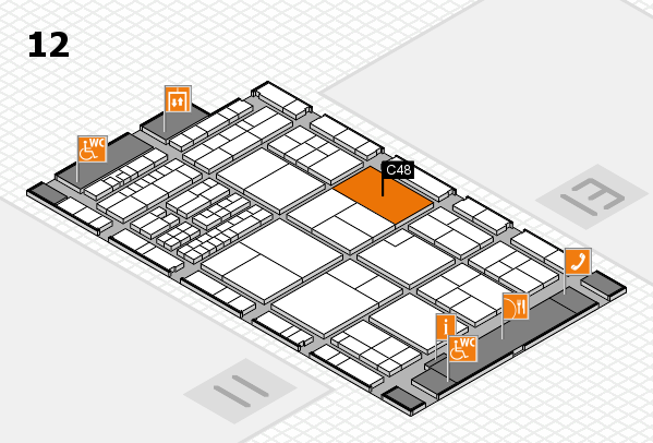 interpack 2017 hall map (Hall 12): stand C48