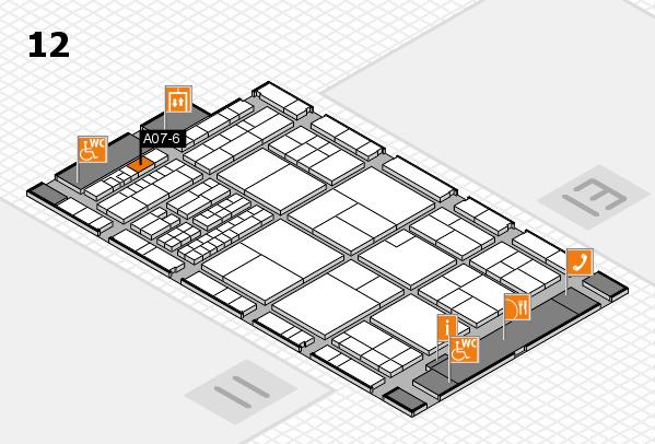 interpack 2017 Hallenplan (Halle 12): Stand A07-6