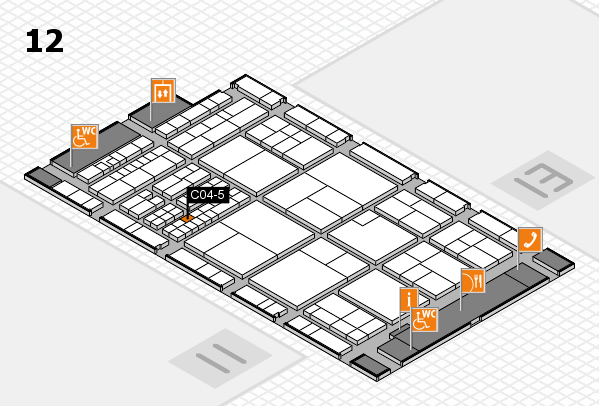 interpack 2017 hall map (Hall 12): stand C04-5