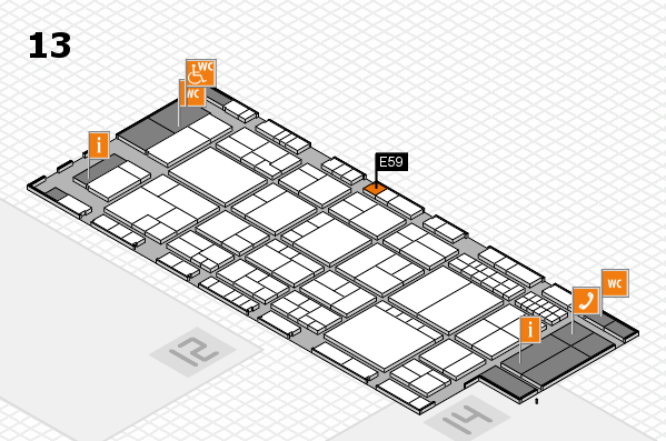 interpack 2017 hall map (Hall 13): stand E59
