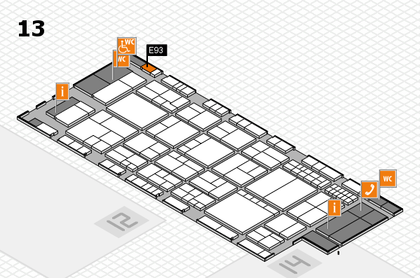 interpack 2017 hall map (Hall 13): stand E93