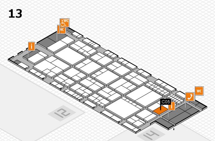 interpack 2017 hall map (Hall 13): stand C05