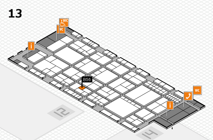interpack 2017 hall map (Hall 13): stand D19