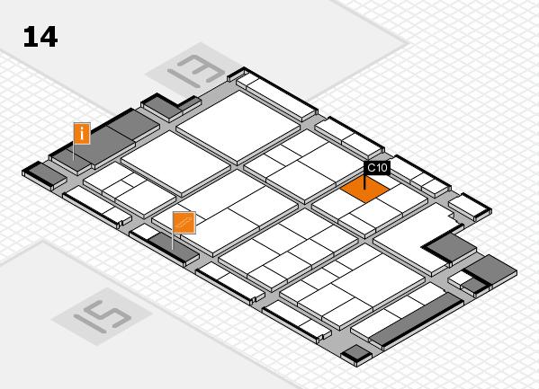 interpack 2017 Hallenplan (Halle 14): Stand C10