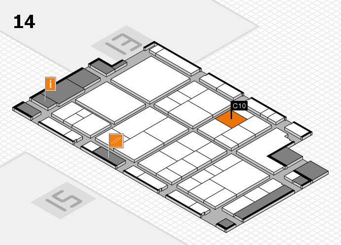 interpack 2017 hall map (Hall 14): stand C10