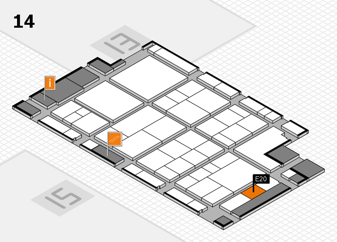 interpack 2017 hall map (Hall 14): stand E20