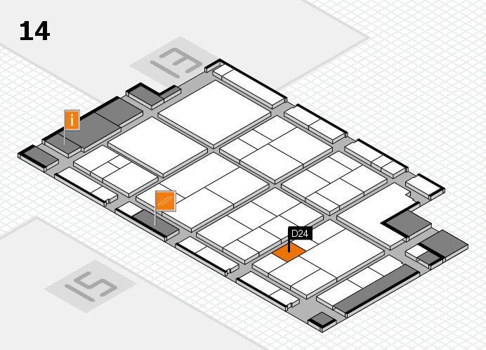 interpack 2017 hall map (Hall 14): stand D24