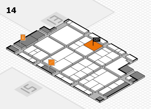 interpack 2017 Hallenplan (Halle 14): Stand C07