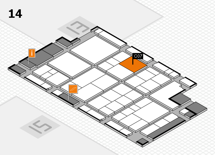 interpack 2017 hall map (Hall 14): stand C07
