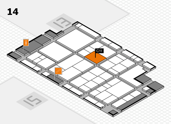 interpack 2017 hall map (Hall 14): stand C11