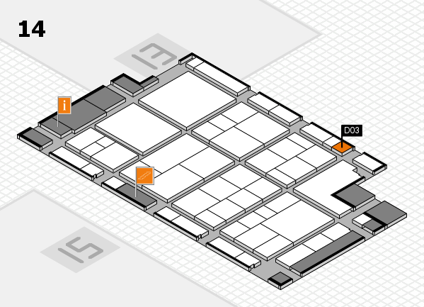 interpack 2017 hall map (Hall 14): stand D03