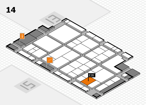 interpack 2017 hall map (Hall 14): stand E35