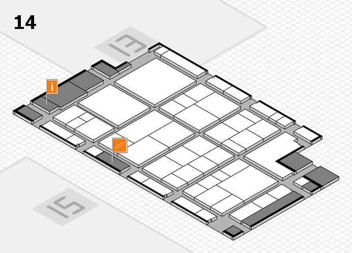 interpack 2017 hall map (Hall 14): stand D33