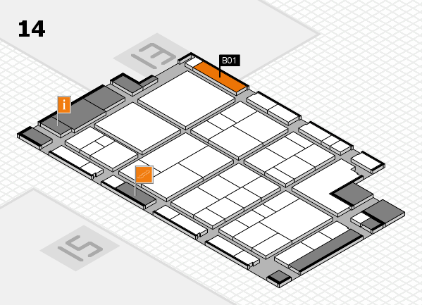 interpack 2017 hall map (Hall 14): stand B01