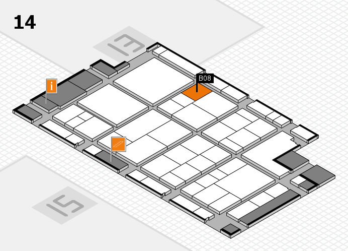 interpack 2017 hall map (Hall 14): stand B08