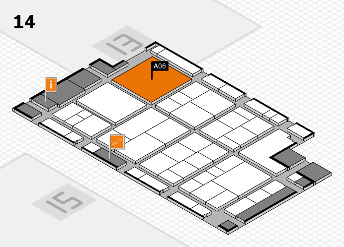interpack 2017 hall map (Hall 14): stand A06