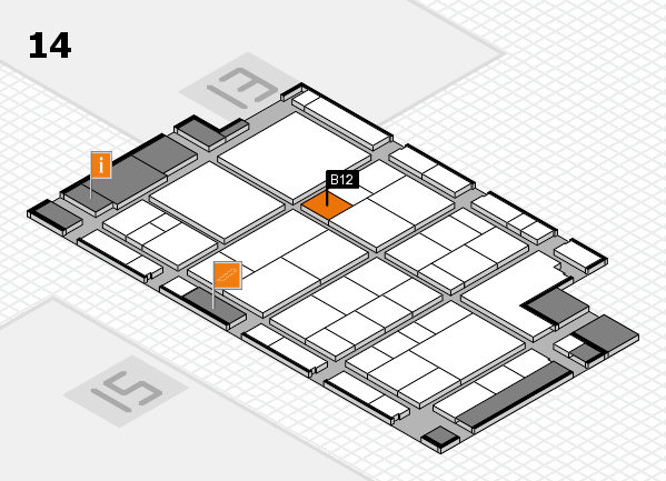 interpack 2017 hall map (Hall 14): stand B12