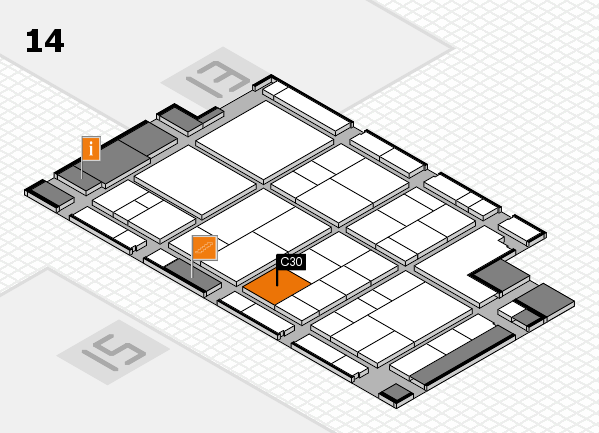 interpack 2017 hall map (Hall 14): stand C30