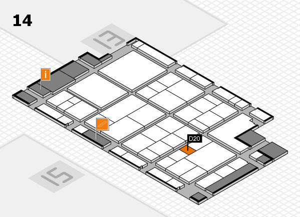 interpack 2017 hall map (Hall 14): stand D20