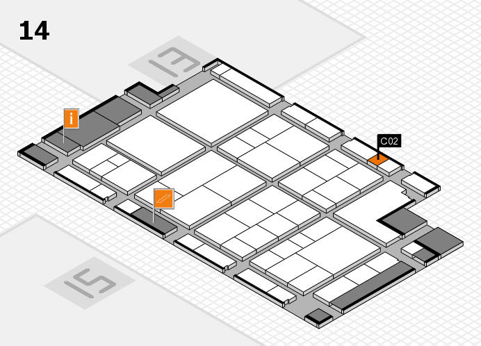interpack 2017 hall map (Hall 14): stand C02