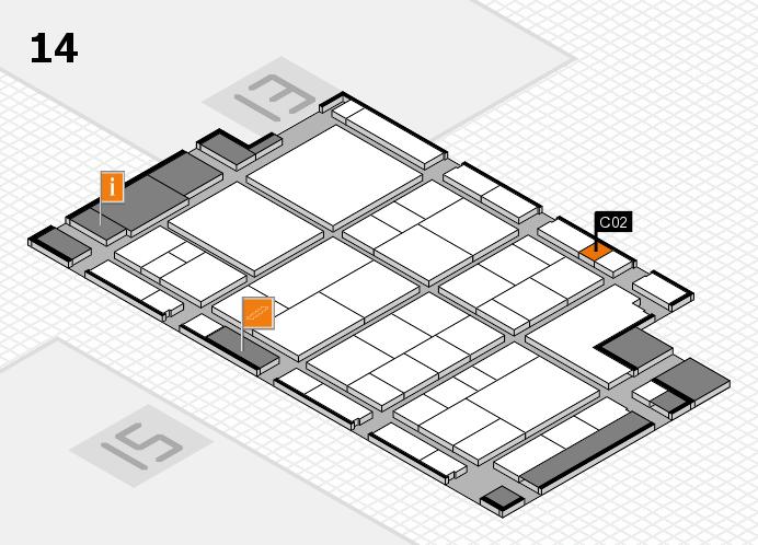 interpack 2017 Hallenplan (Halle 14): Stand C02