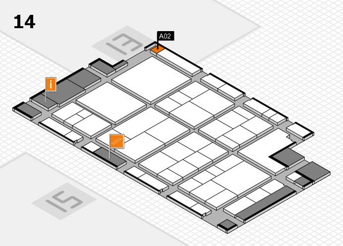 interpack 2017 Hallenplan (Halle 14): Stand A02