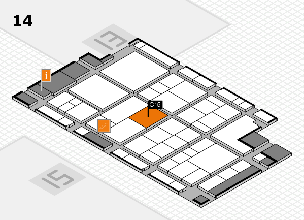 interpack 2017 hall map (Hall 14): stand C15