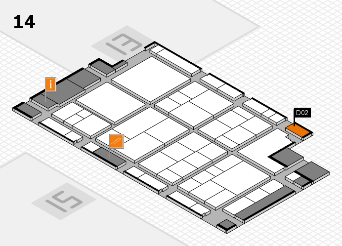 interpack 2017 hall map (Hall 14): stand D02