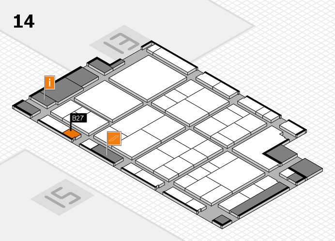 interpack 2017 hall map (Hall 14): stand B27