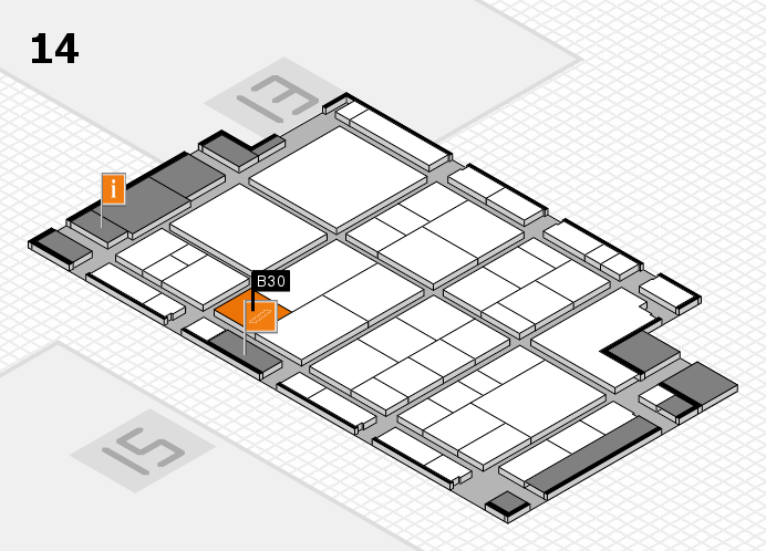 interpack 2017 hall map (Hall 14): stand B30