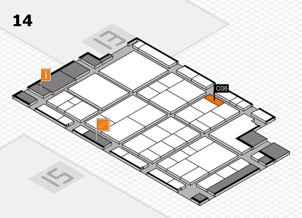 interpack 2017 hall map (Hall 14): stand C06