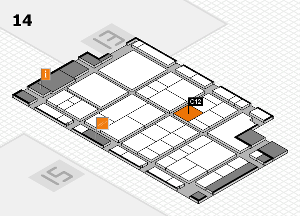 interpack 2017 hall map (Hall 14): stand C12