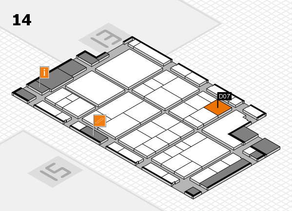 interpack 2017 hall map (Hall 14): stand D07