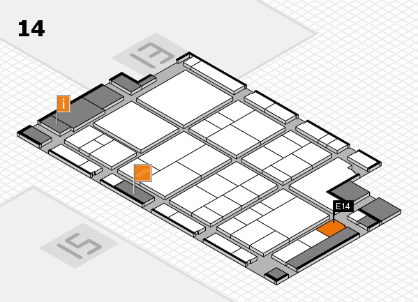 interpack 2017 hall map (Hall 14): stand E14