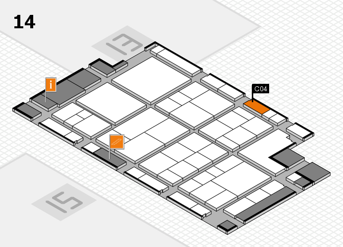 interpack 2017 hall map (Hall 14): stand C04