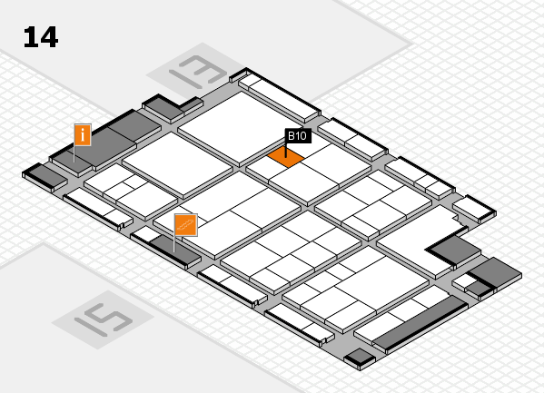 interpack 2017 hall map (Hall 14): stand B10
