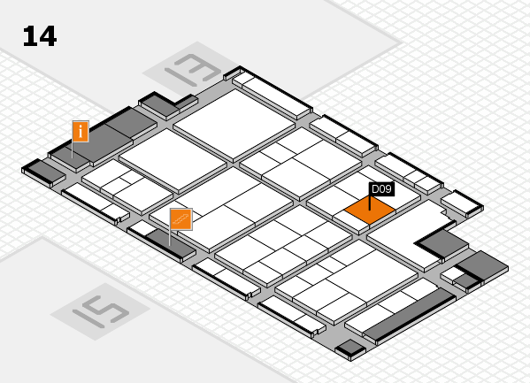 interpack 2017 hall map (Hall 14): stand D09