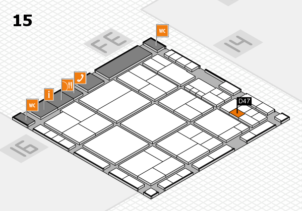 interpack 2017 hall map (Hall 15): stand D47