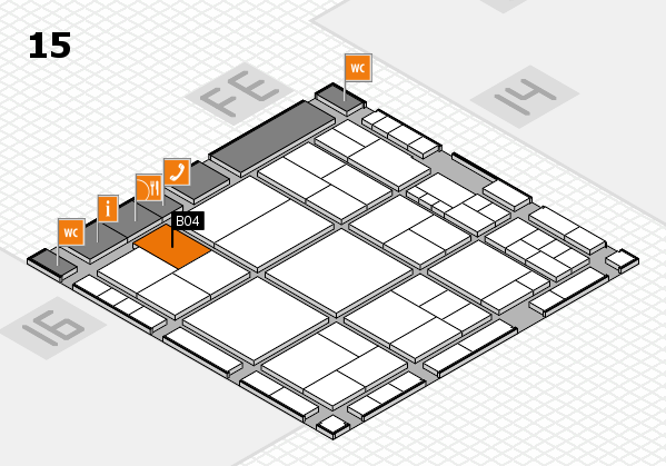 interpack 2017 hall map (Hall 15): stand B04