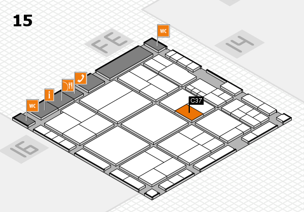 interpack 2017 hall map (Hall 15): stand C37
