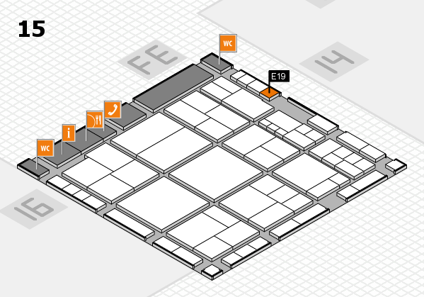 interpack 2017 hall map (Hall 15): stand E19