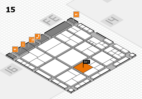 interpack 2017 hall map (Hall 15): stand B41