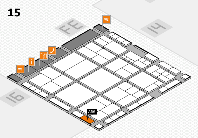 interpack 2017 hall map (Hall 15): stand A56