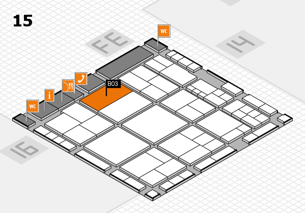interpack 2017 hall map (Hall 15): stand B03