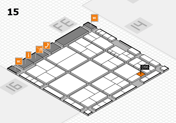 interpack 2017 hall map (Hall 15): stand D56