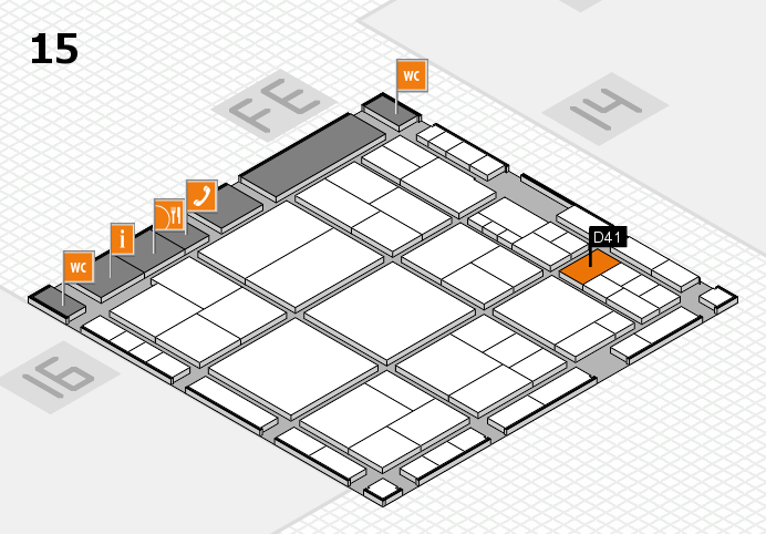 interpack 2017 hall map (Hall 15): stand D41