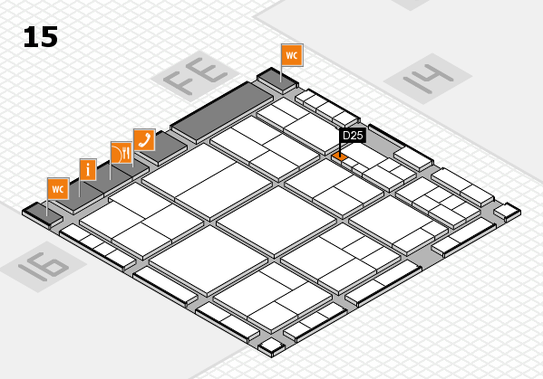 interpack 2017 hall map (Hall 15): stand D25