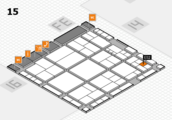 interpack 2017 hall map (Hall 15): stand E52